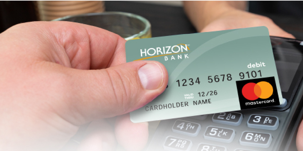 Using a Horizon debit card